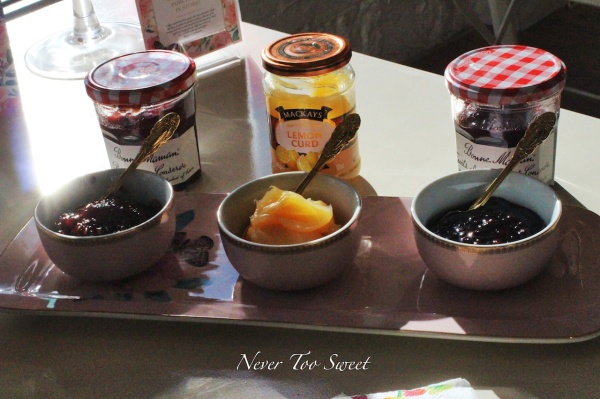 Jams and Lemon Curd