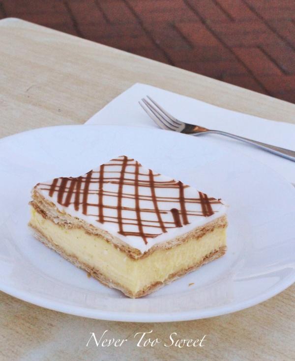 Vanilla Slice $7