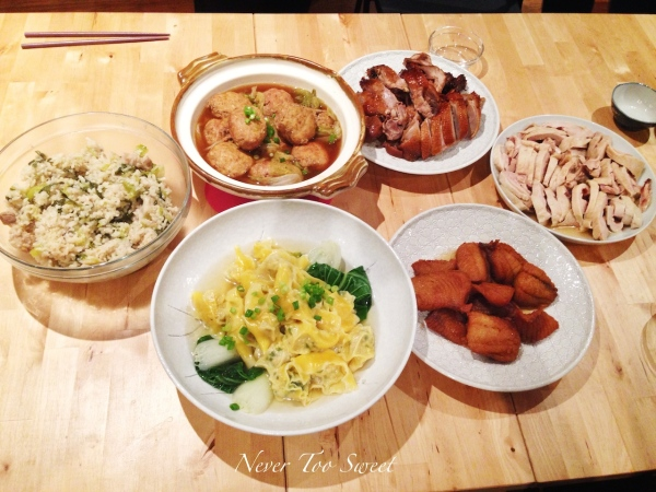 Shanghainese Themed dinner