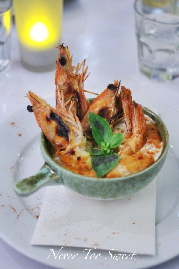 Rich spicy prawn with local buttermilk pumpkin soup $18