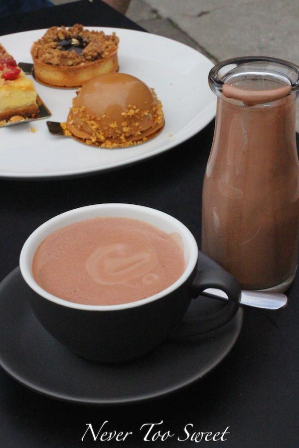 Mork Hot Chocolate $4