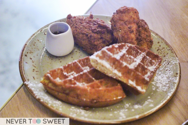 Fried Chicken and Waffle $19