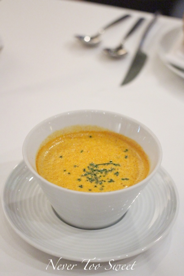 The Bostonian Lobster Bisque $138HKD ($19AUD)