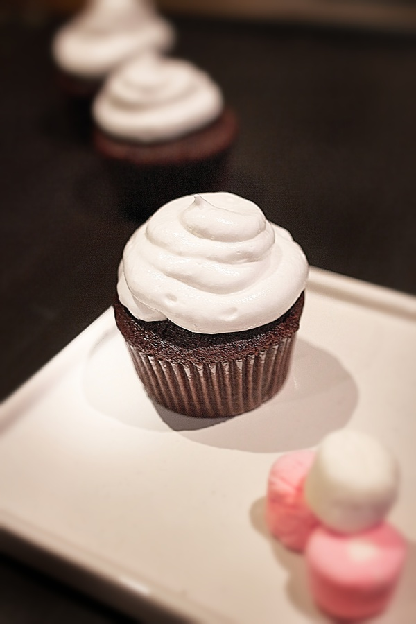 Chocolate Marshmallow Cupcake