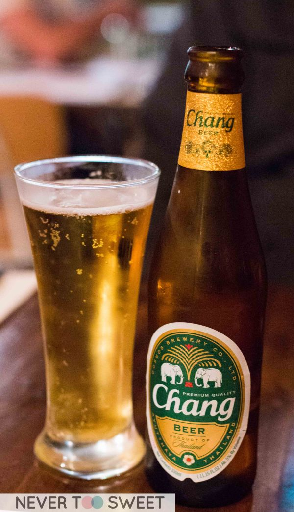 Chang Beer $8