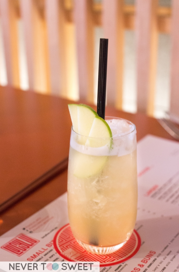 Koh Tao Cooler - Apple, honey, apple juice, crushed ice top with soda $8