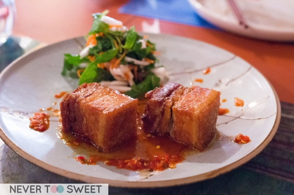 Rare Breed Sticky Pork Belly $20