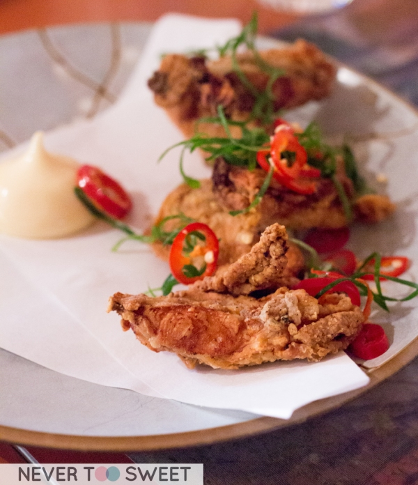 Koren Fried Chicken Ribs $14