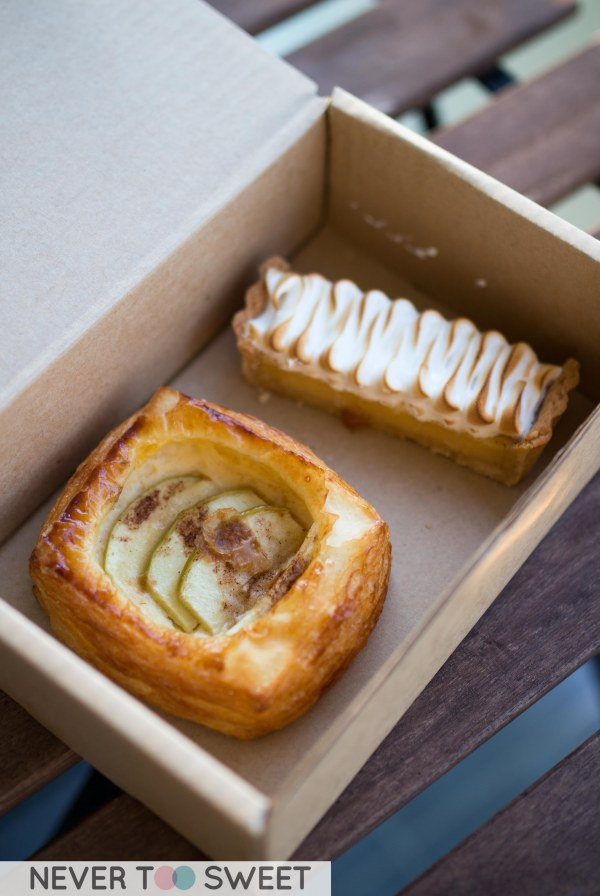 Apple Danish and Lemon Merengue Tart $9