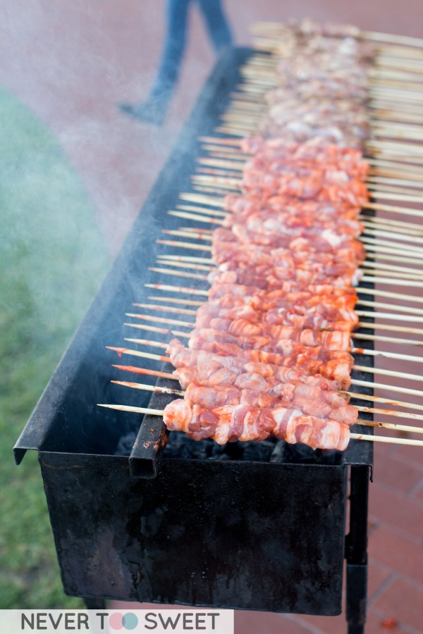 Wouldn't it be nice to have a skewer grill at home?