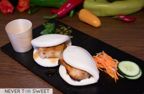 Braised Pork Belly Gua Bao
