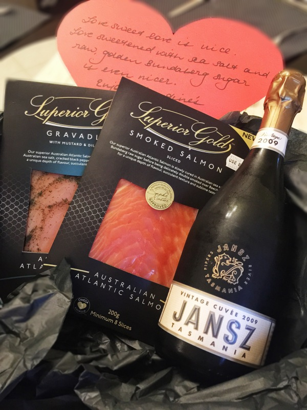 Valentine's Day Hamper - Superior Gold Salmon