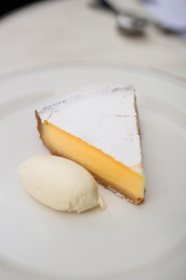 Lemon Tart, creme fraiche $16.9