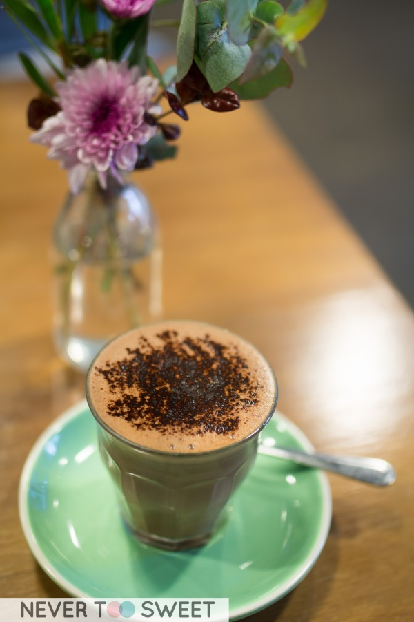 Monsieur Truffe Hot Chocolate $5