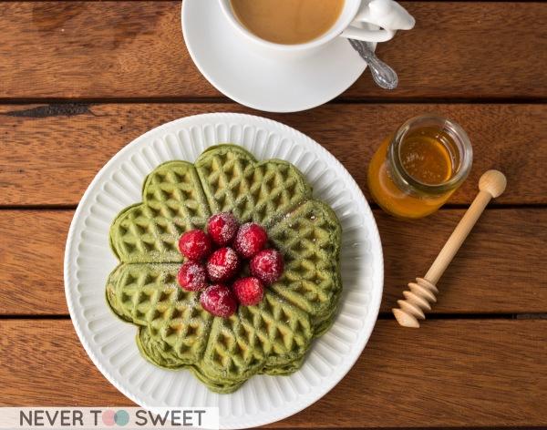 Matcha Waffle3