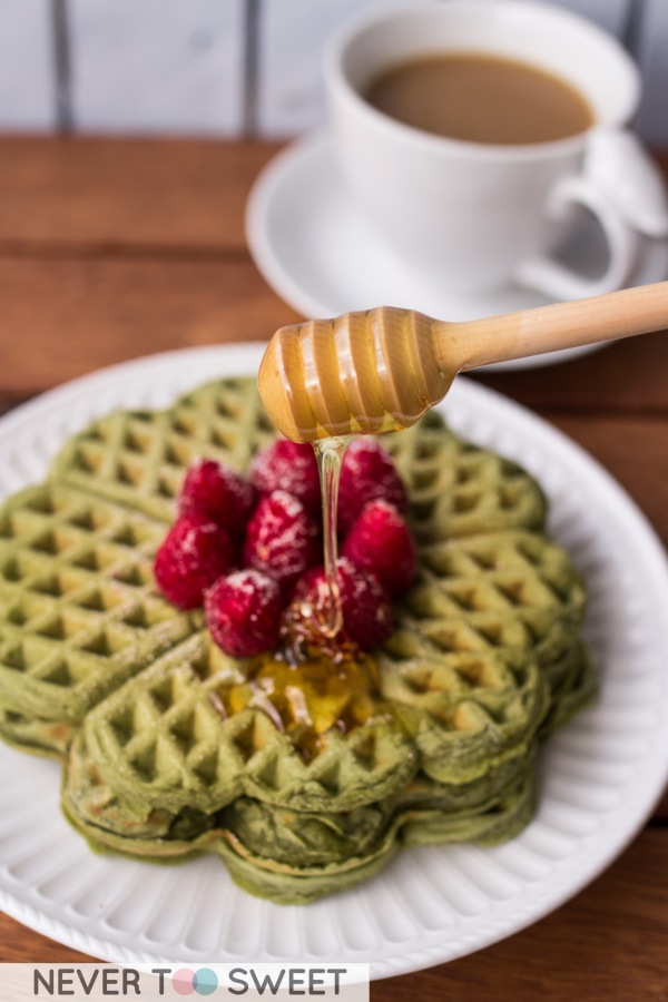 Matcha waffle5