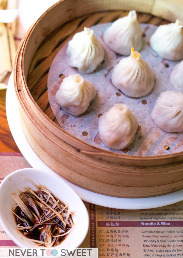 Xiao Long Bao - Crab & Pork $11