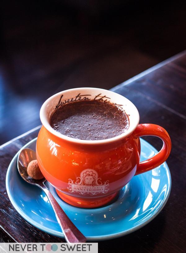 Azteca Chilli Spanish Hot Chocolate $5.95